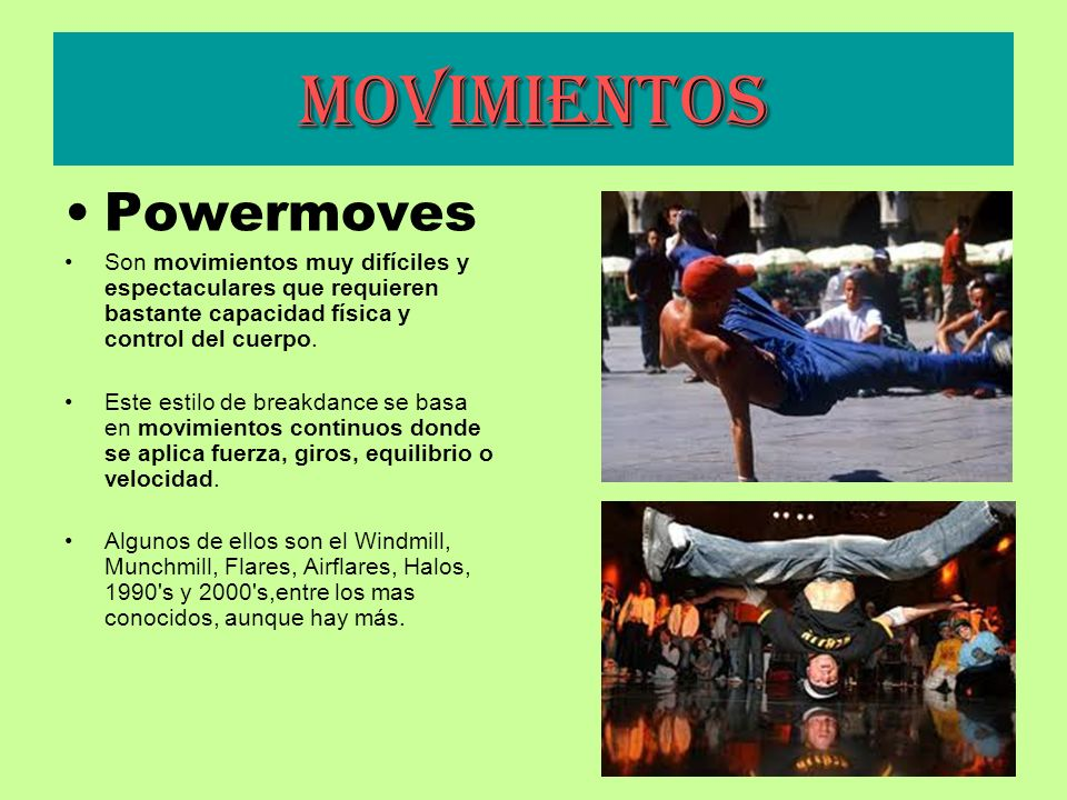 Movimientos Powermoves
