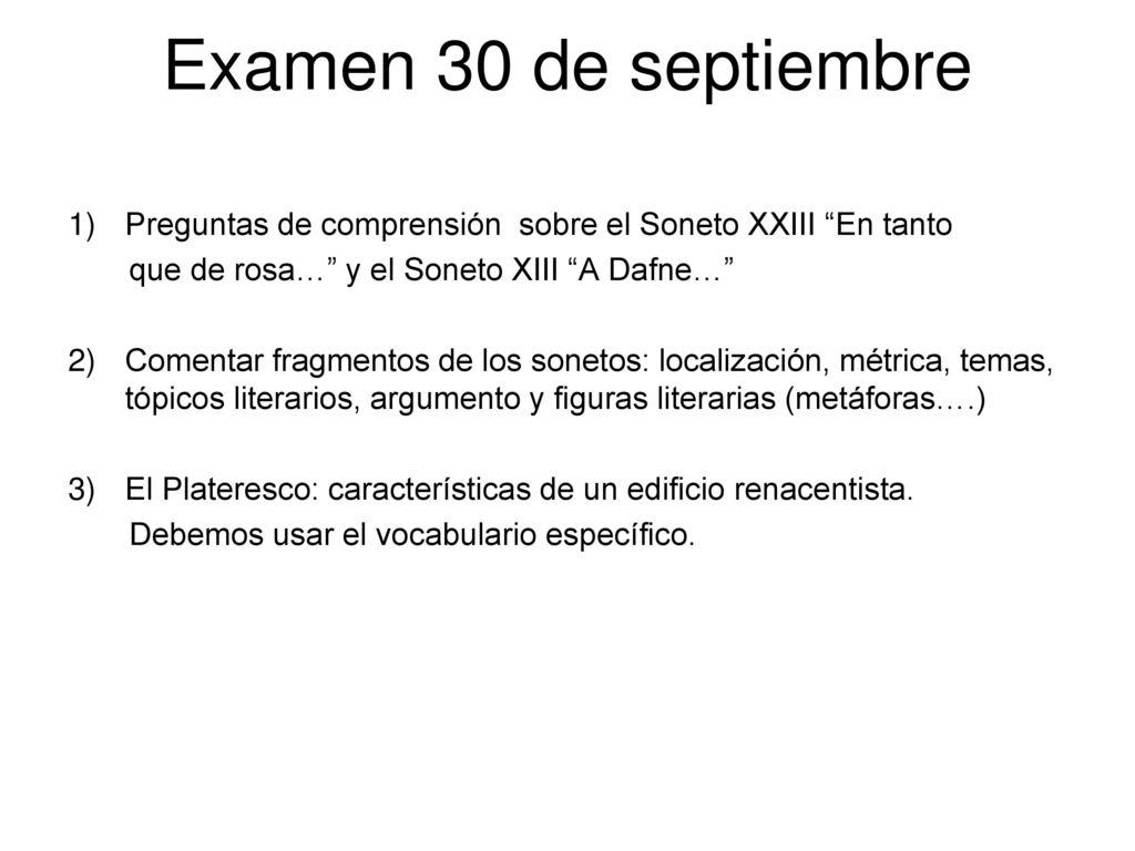 Garcilaso De La Vega Análisis Del Soneto Xiii A Dafne