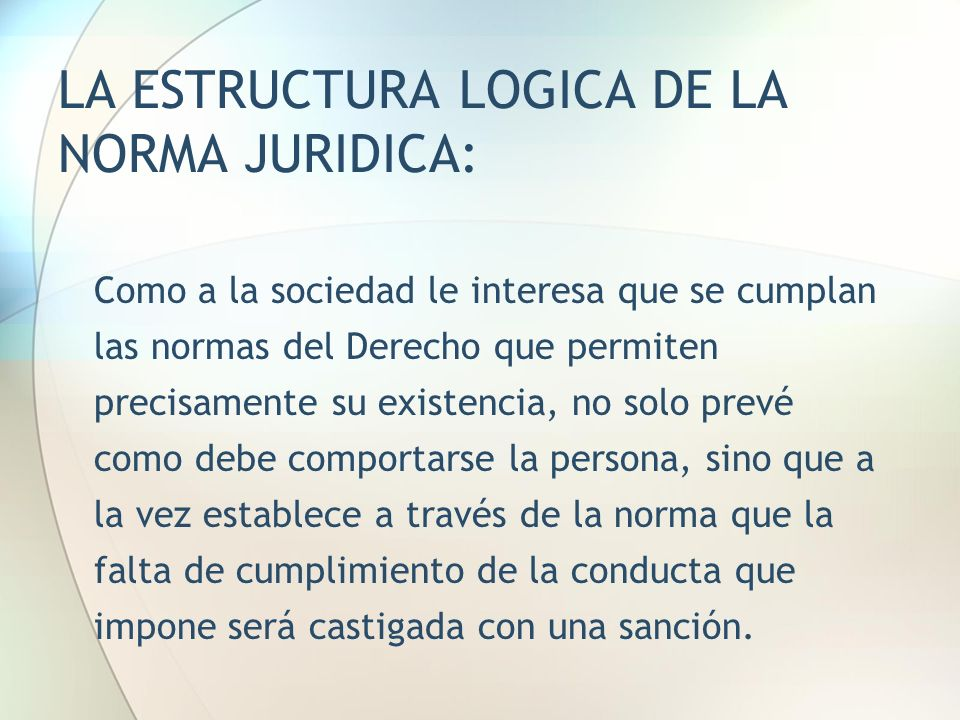 Reglas De Conducta Y Normas Juridicas Ppt Video Online