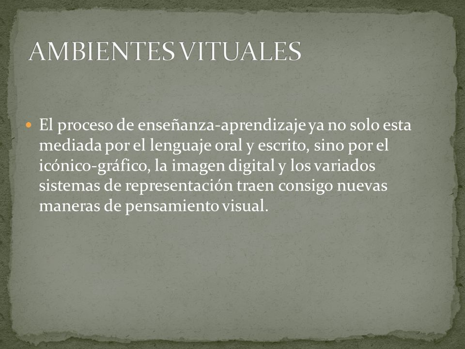AMBIENTES VITUALES