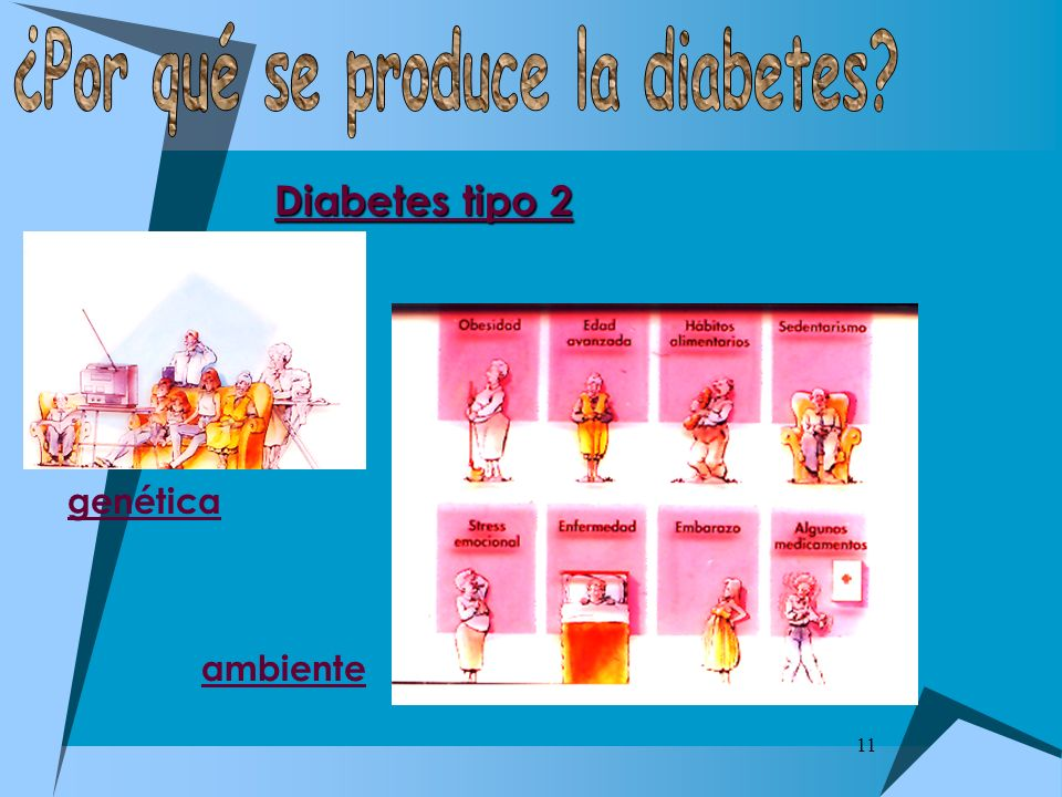 ¿Por qué se produce la diabetes