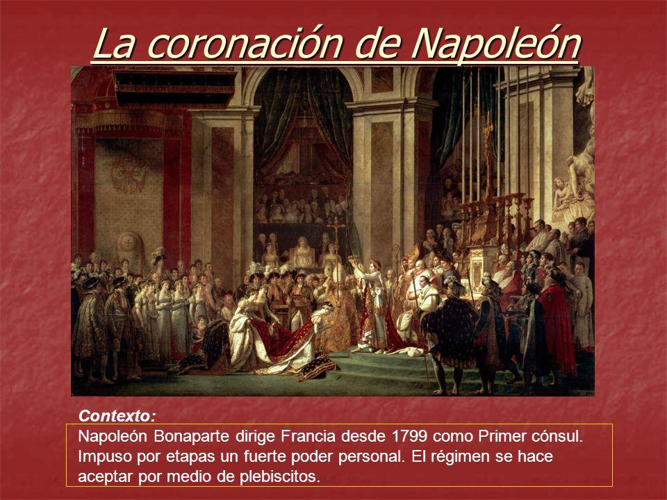 La Coronacion De Napoleon Ppt Descargar