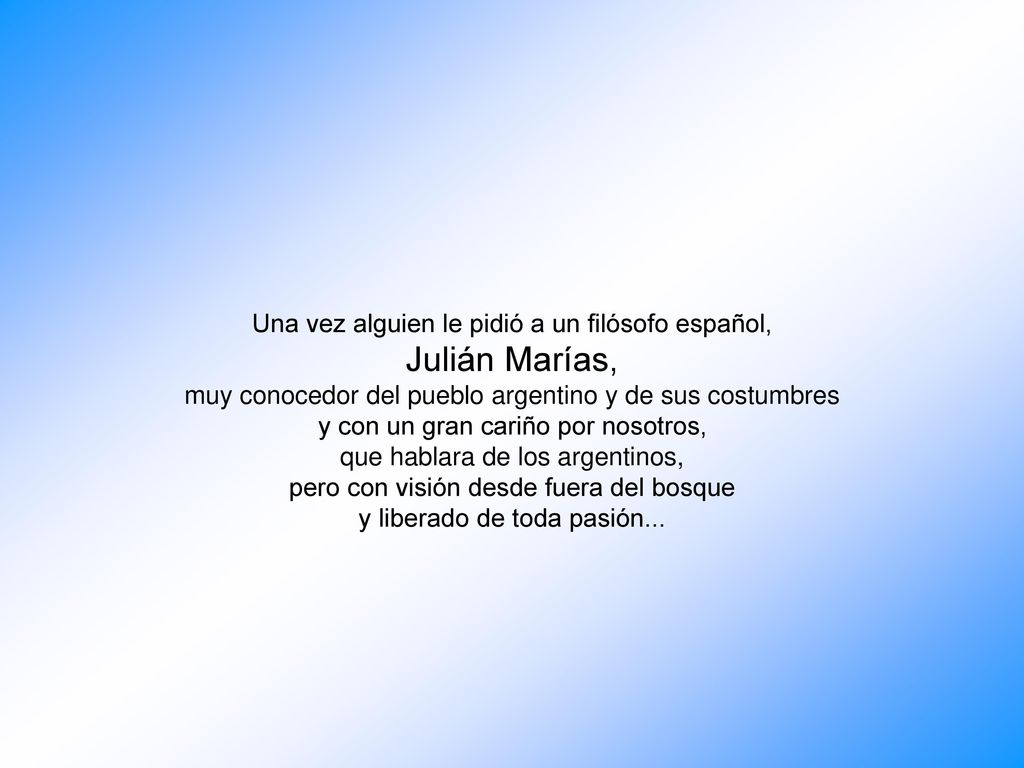 Julián Marías Una Vez Alguien Le Pidió A Un Filósofo