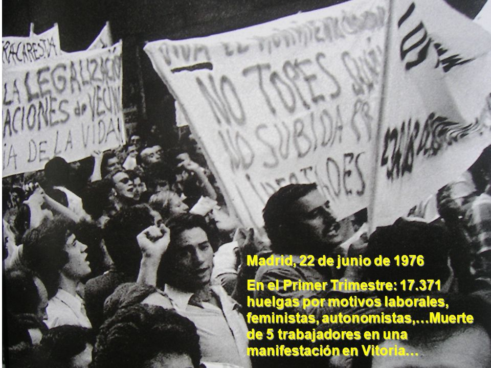 Madrid, 22 de junio de 1976