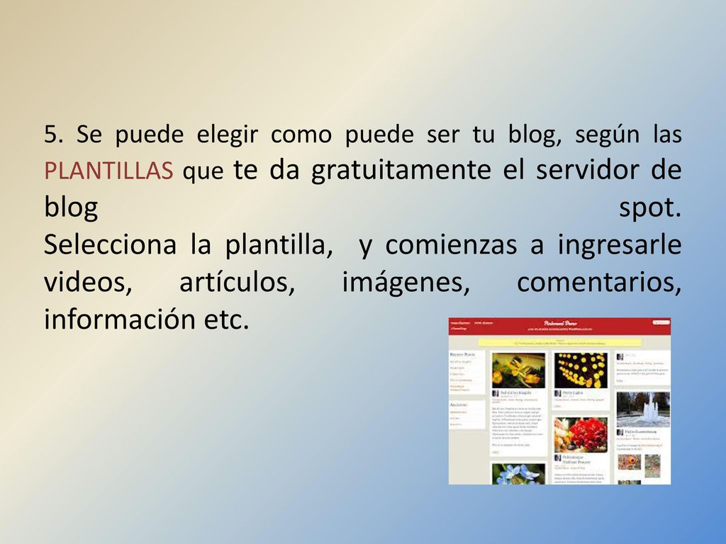 QUE ES UN BLOG?…. Blog, ES UN SITIO Web personal donde se escriben ...