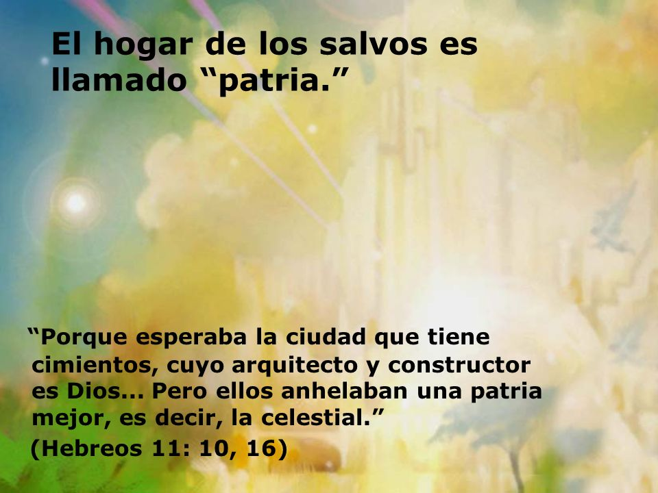 Resultado de imagen para HEBREOS 11:10
