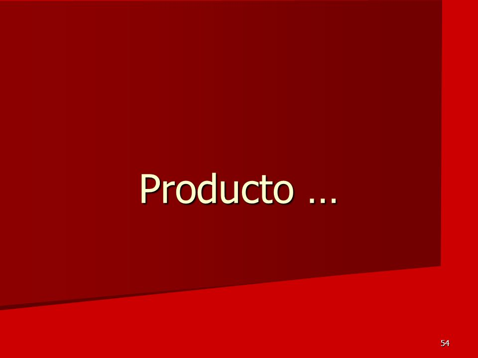 Producto …