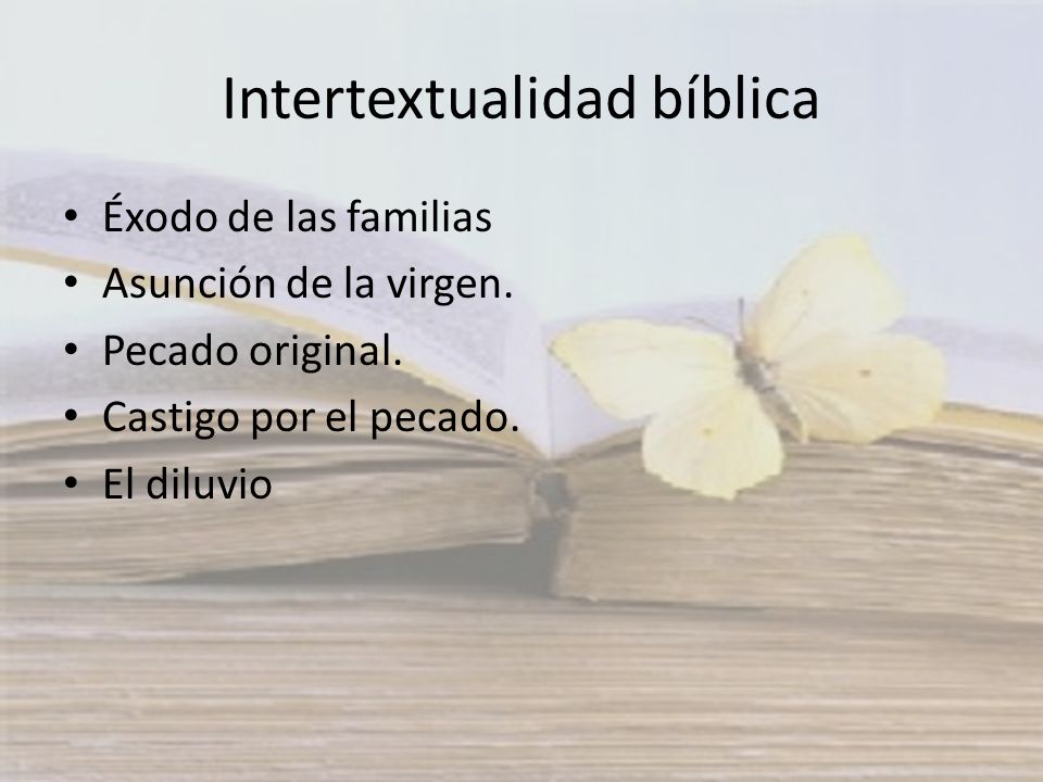 Intertextualidad bíblica