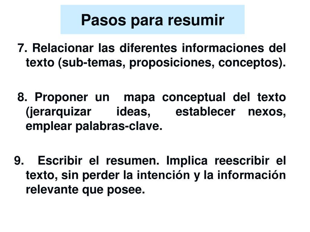 Tipos de textos científicos El resumen, la reseña y el ensayo - ppt ...