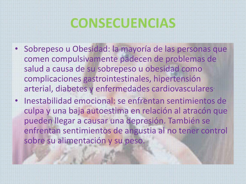comedor compulsivo sintomas de diabetes