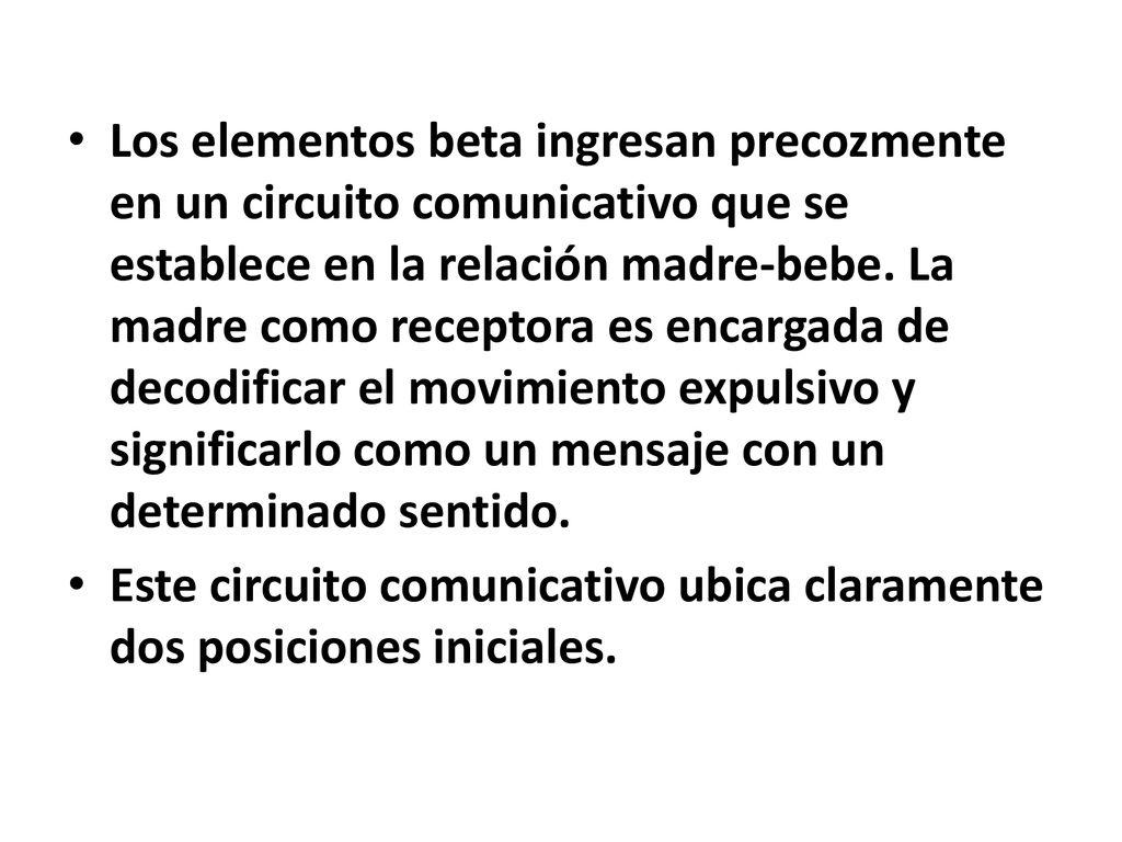 Circuito Comunicativo : Teorías psicológicas ii prof. lic. leandro m. sanchez ppt descargar