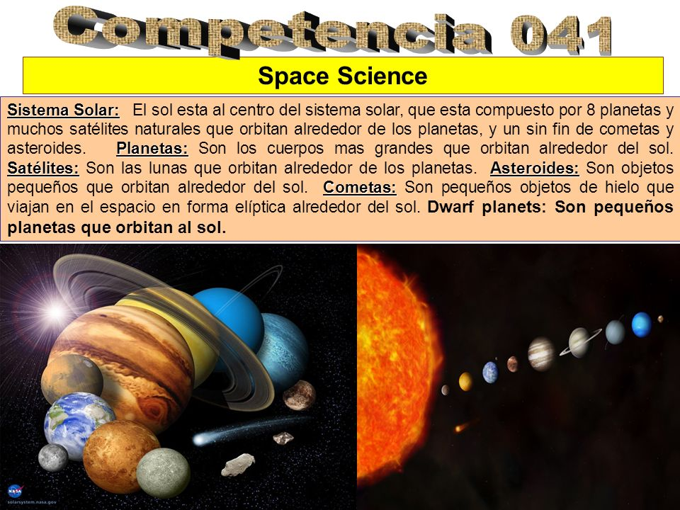 Competencia 041 Space Science