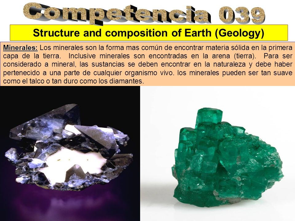 Structure and composition of Earth (Geology)