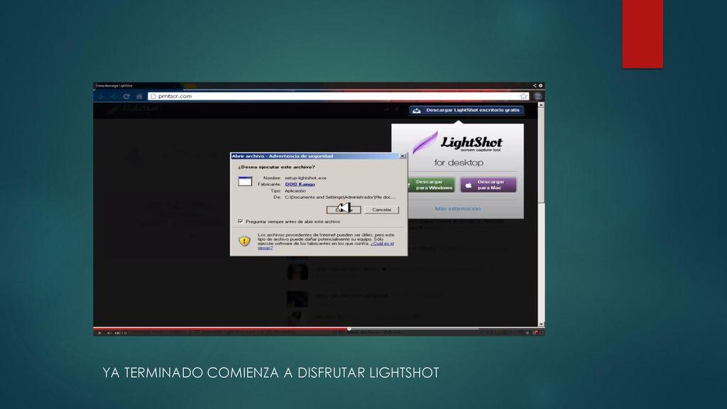 LIGTHSHOT Lightshot es una opción más para los usuarios de