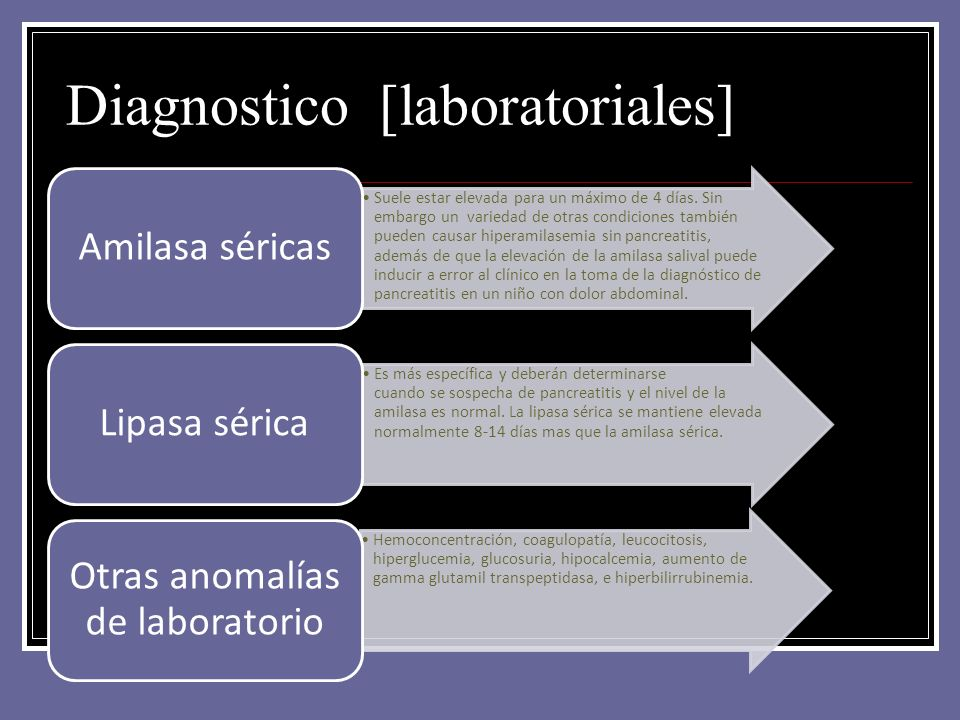 Diagnostico [laboratoriales]