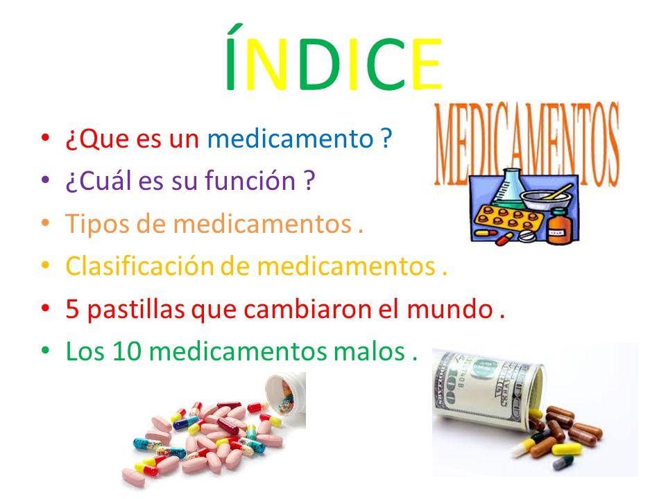 LOS MEDICAMENTOS LOS MEDICAMENTOS. - ppt descargar