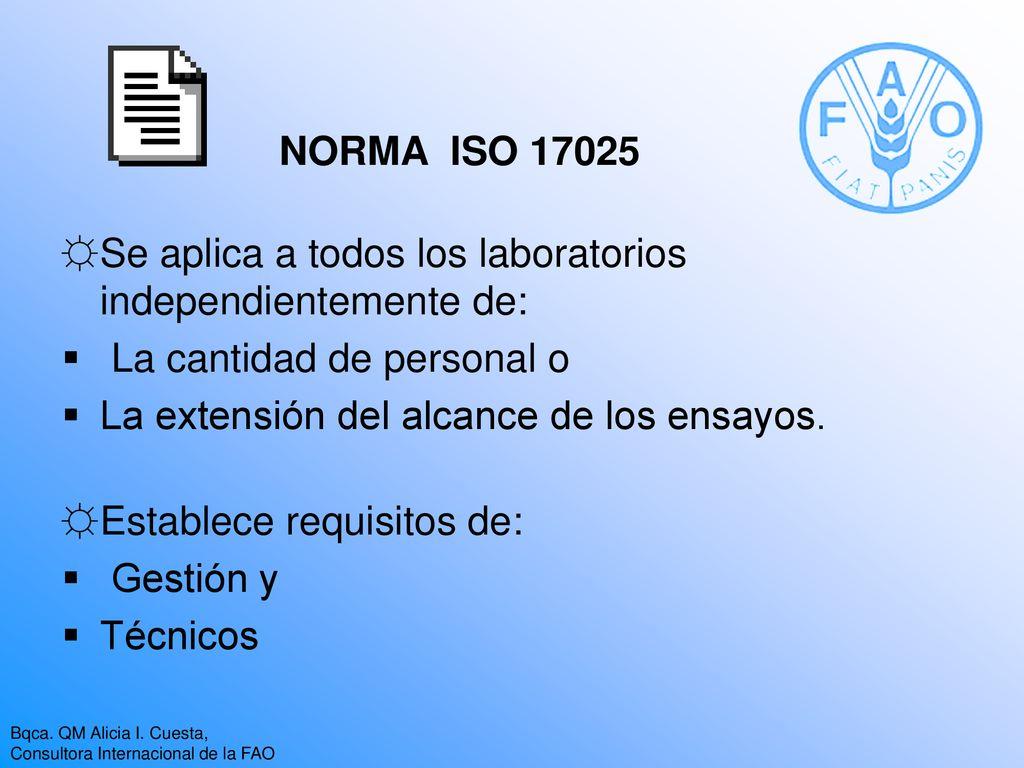 Generalidades de la NORMA ISO Requisitos de gestión - ppt descargar
