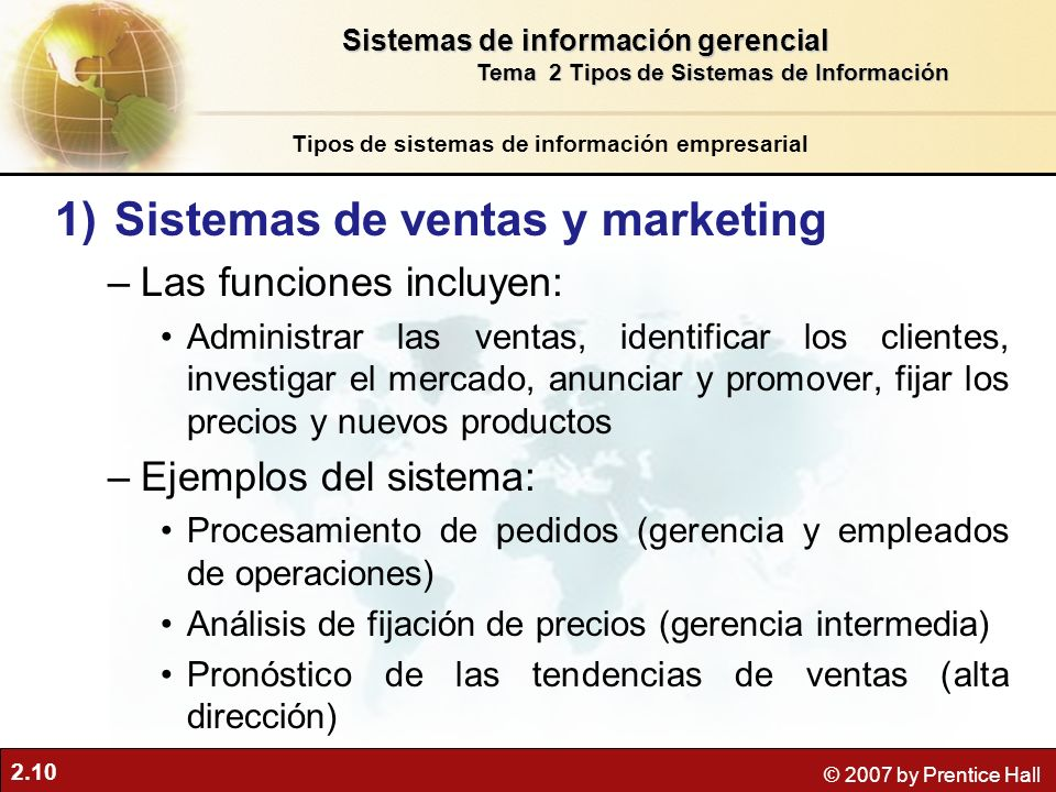Sistemas de ventas y marketing