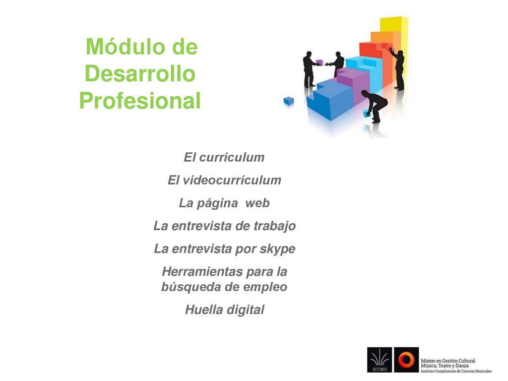 Módulo de Desarrollo Profesional - ppt descargar