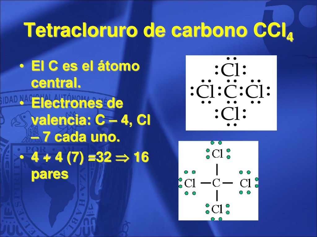 Tetracloruro de carbono CCl4