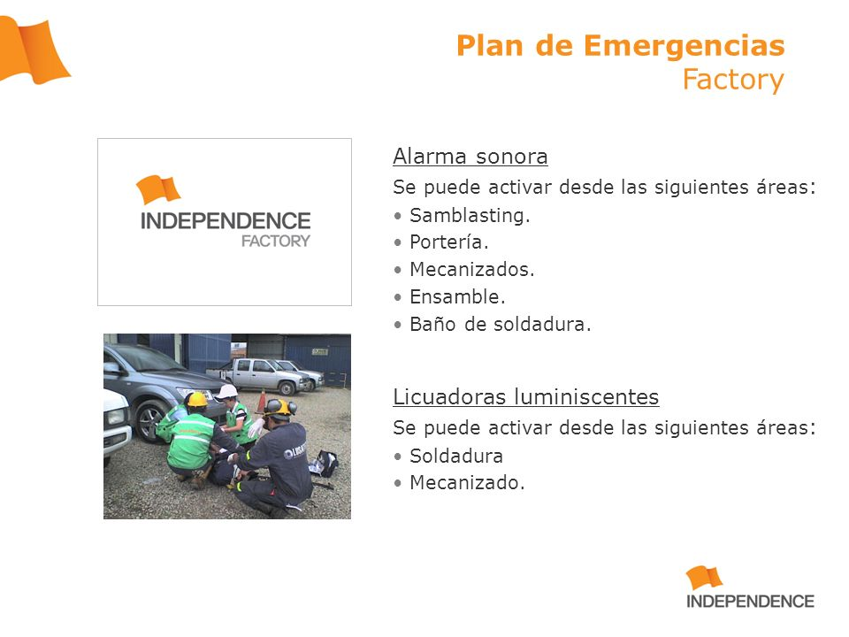 Plan de Emergencias Factory