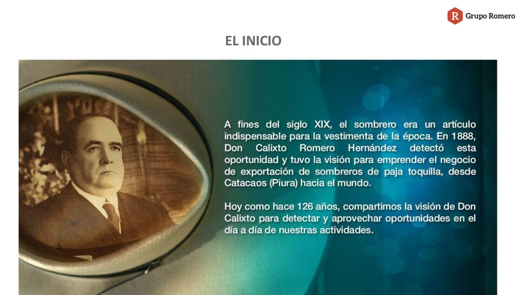 8a3609291ac09 GRUPO ROMERO Presentación. - ppt descargar