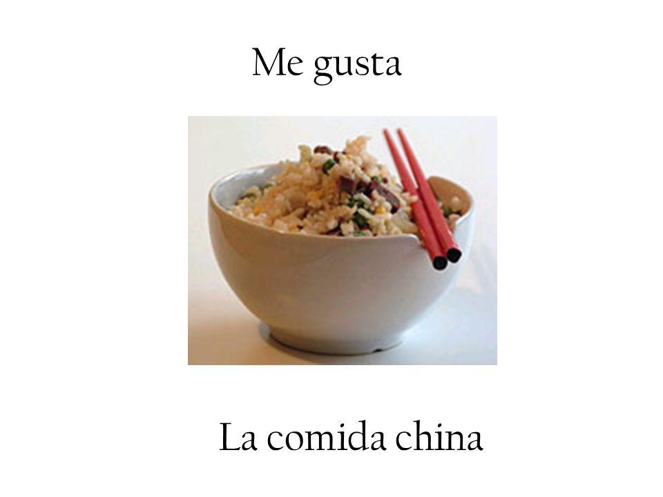 Me gusta La comida china. - ppt descargar