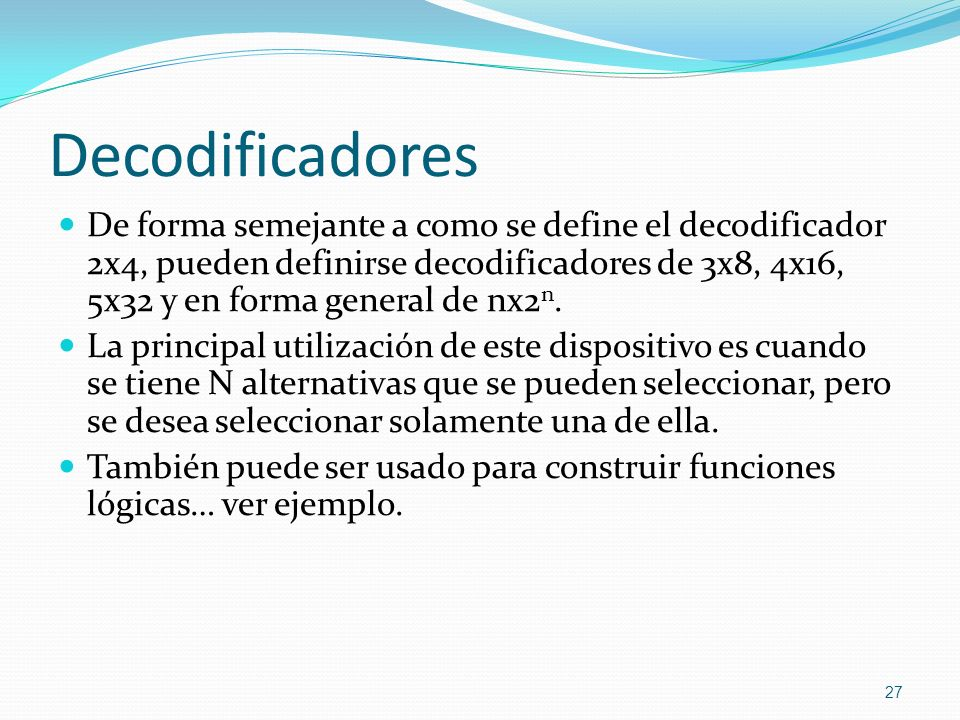 Decodificadores