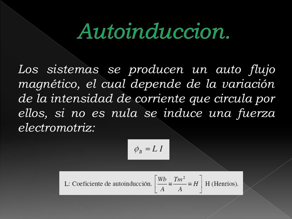 Autoinduccion.