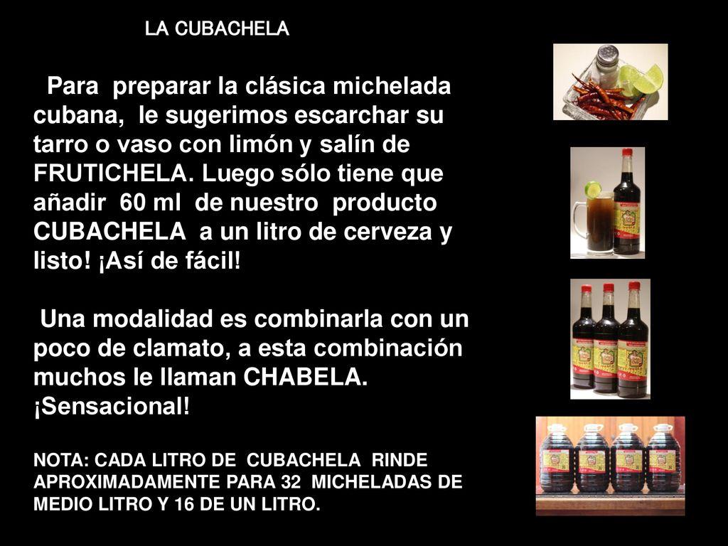 FRUTICHELA es un original concepto en micheladas de sabor