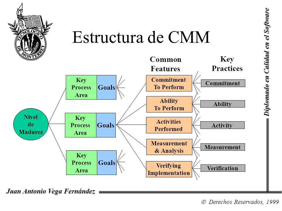Estructura de CMM Common Features Practices