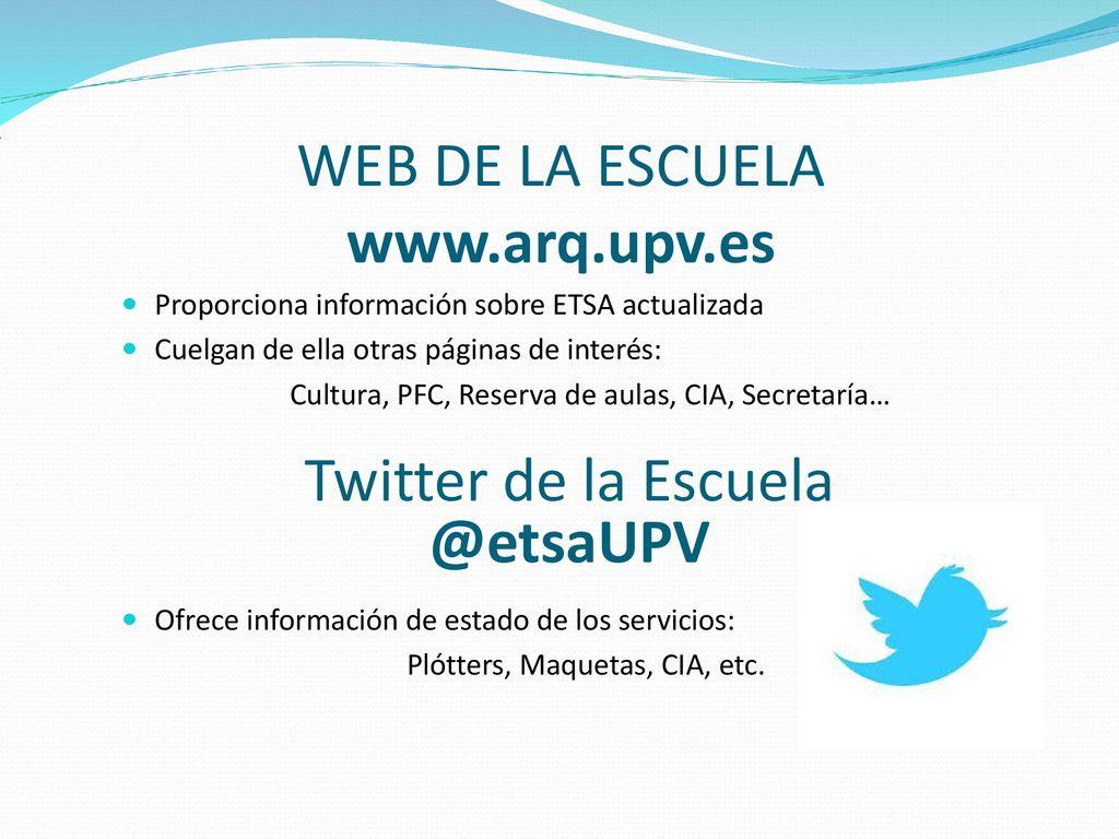 Calendario Etsa Upv.Servicios Informaticos De La Etsa Ppt Descargar