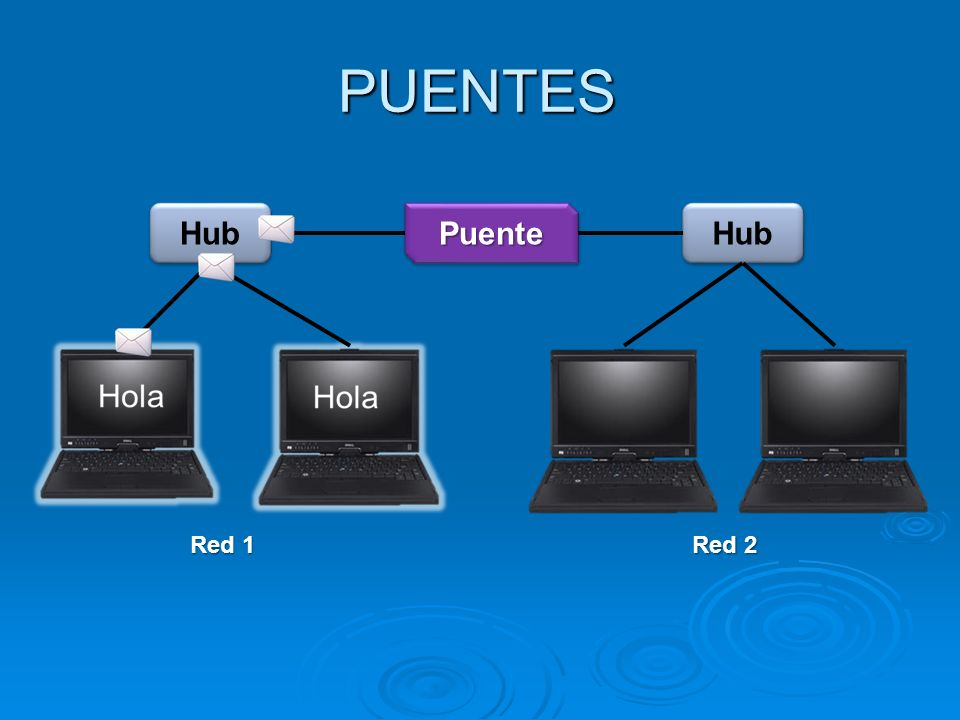 PUENTES Hub Puente Hub Red 1 Red 2