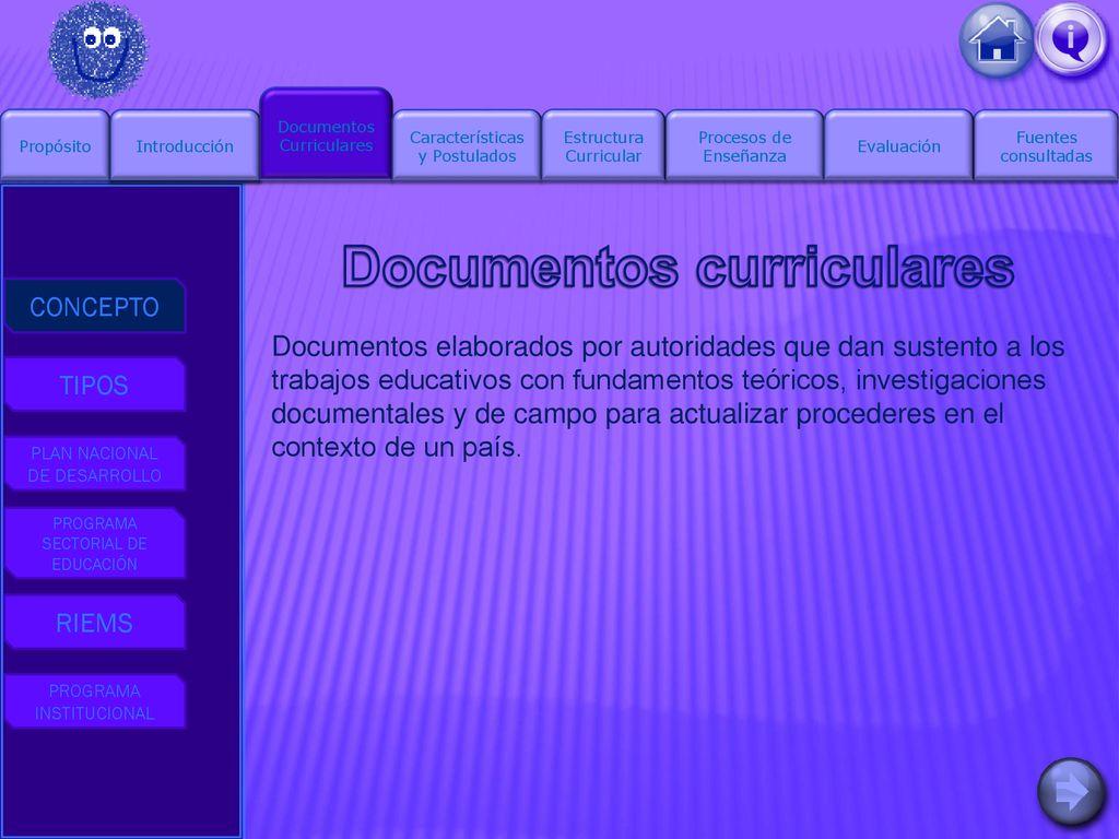 Justificación De La Estructura Curricular Del Ppt Descargar