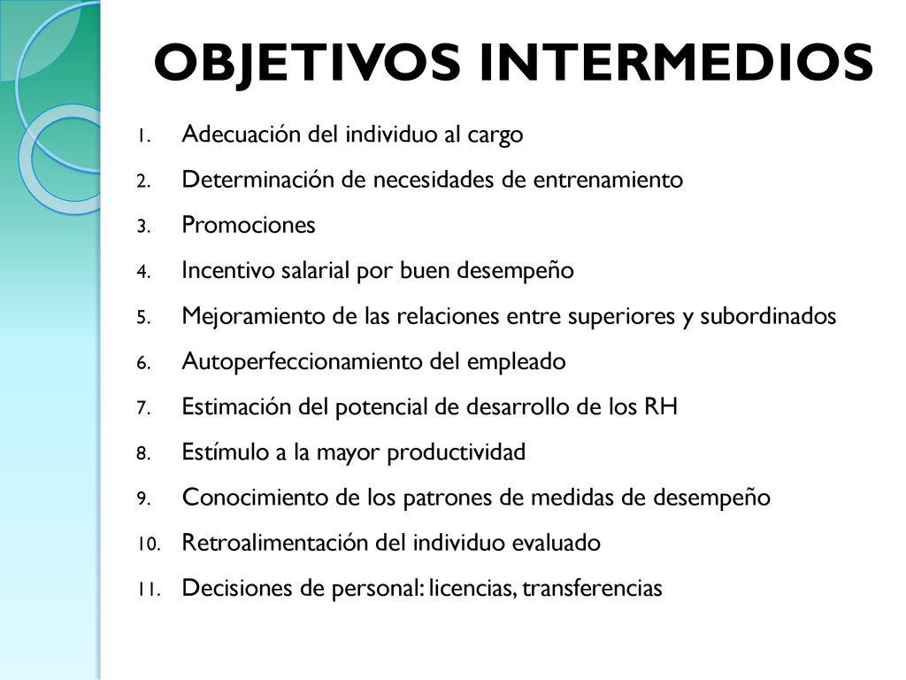 EVALUACIÓN DEL DESEMPEÑO - ppt descargar