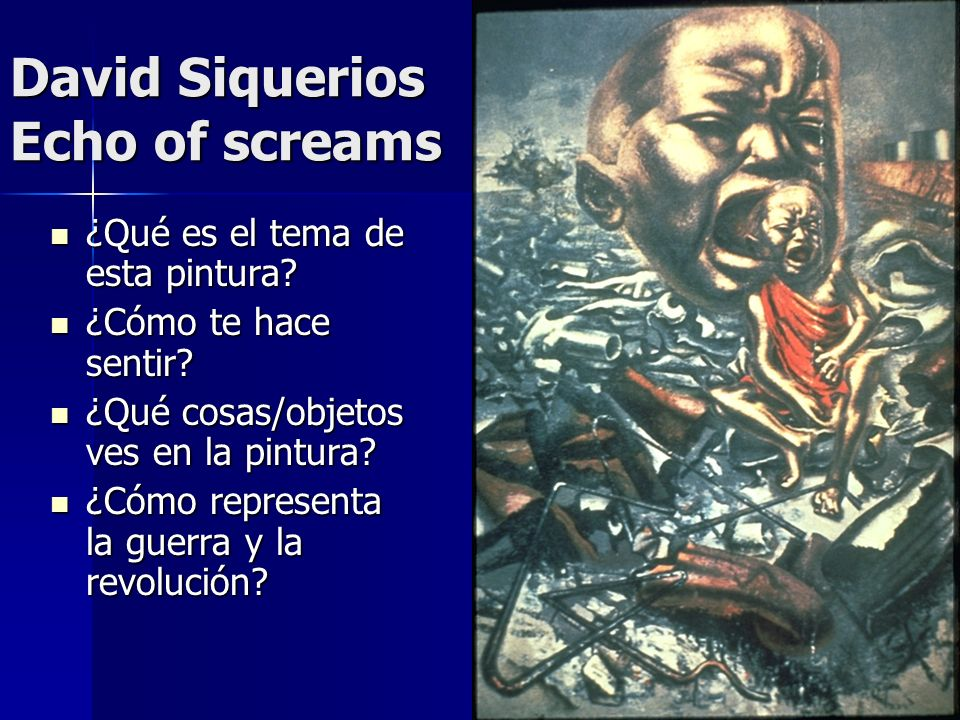David Siquerios Echo of screams