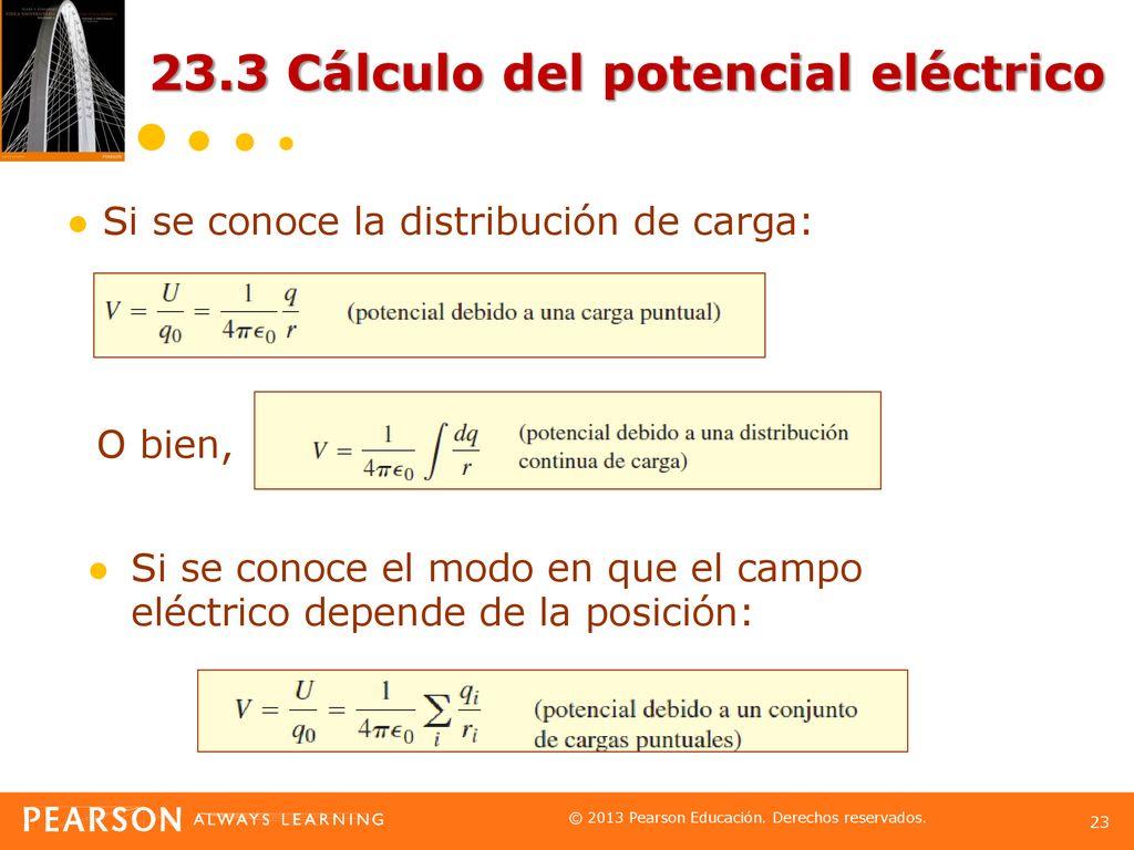 Capítulo 23 Potencial eléctrico. - ppt descargar