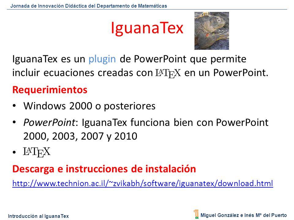 d70d0e70a IguanaTex IguanaTex es un plugin de PowerPoint que permite