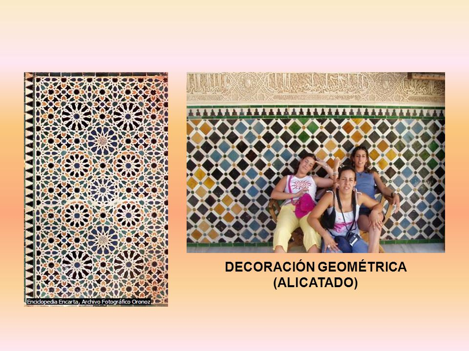 DECORACIÓN GEOMÉTRICA (ALICATADO)