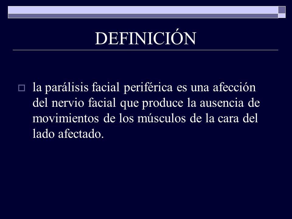 Parálisis Facial Periférica - ppt descargar