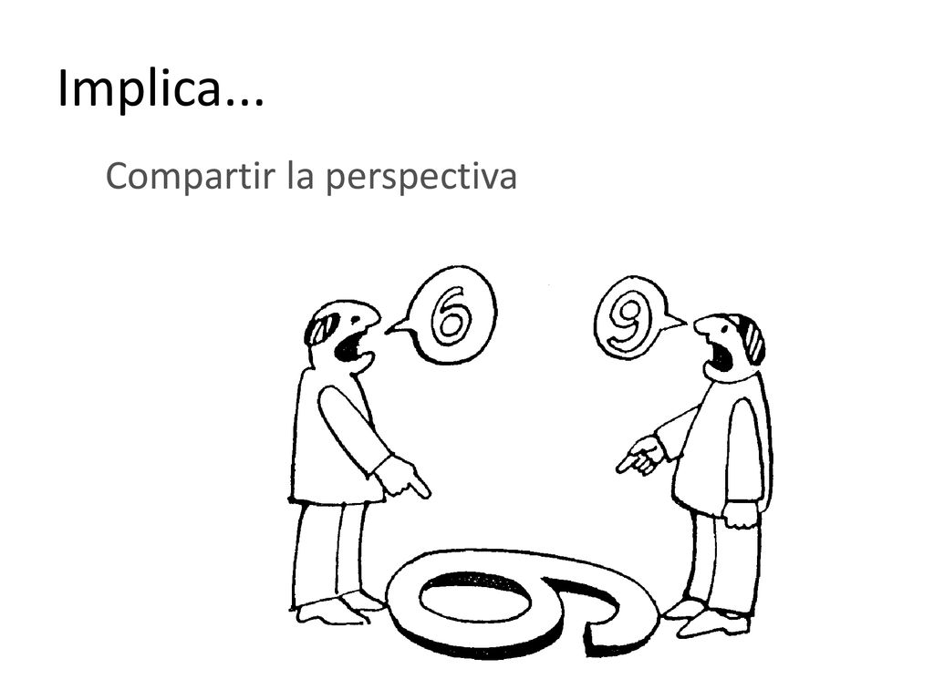 Implica... Compartir la perspectiva