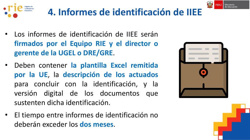 Tema 2: Identificación de IIEE - ppt descargar
