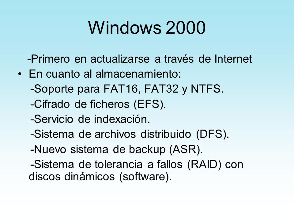 Windows Primero en actualizarse a través de Internet
