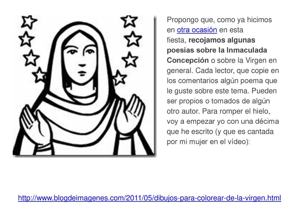 La Inmaculada Concepcion De La Virgen Maria Ppt Descargar