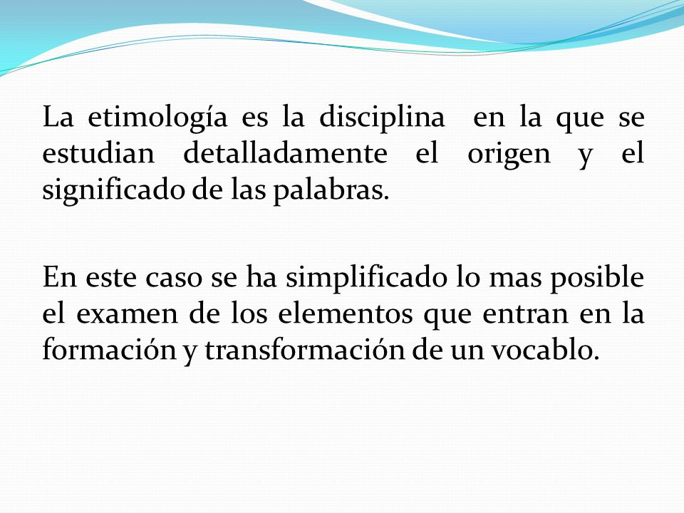 Etimologías de Anatomía - ppt video online descargar