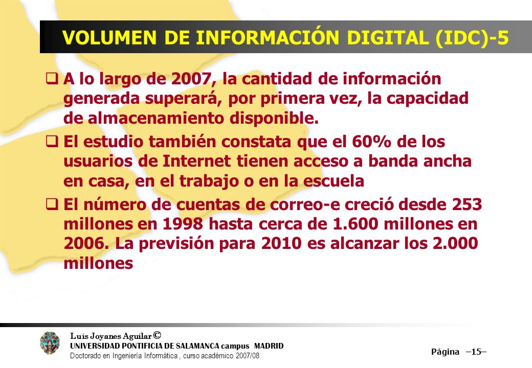 VOLUMEN DE INFORMACIÓN DIGITAL (IDC)-5