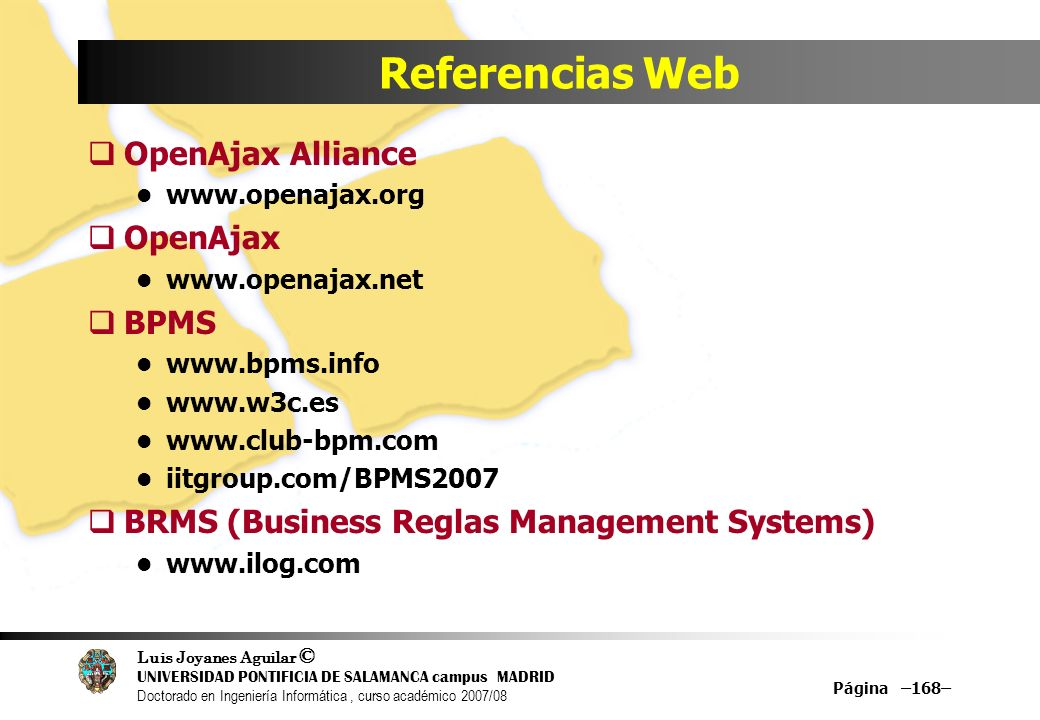 Referencias Web OpenAjax Alliance OpenAjax BPMS