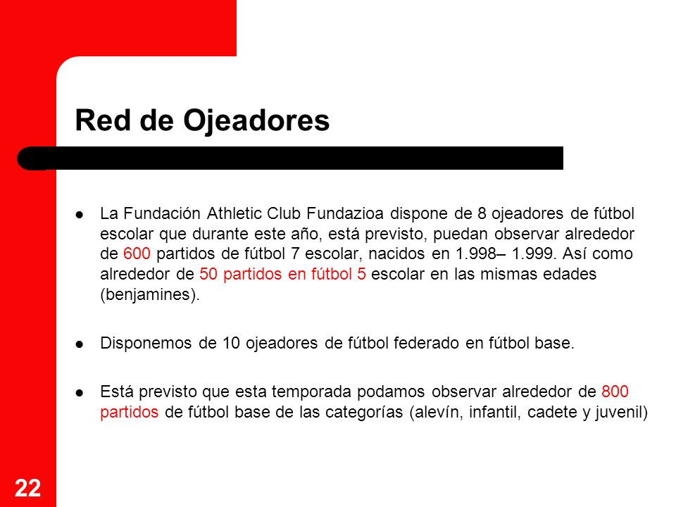 Red de Ojeadores