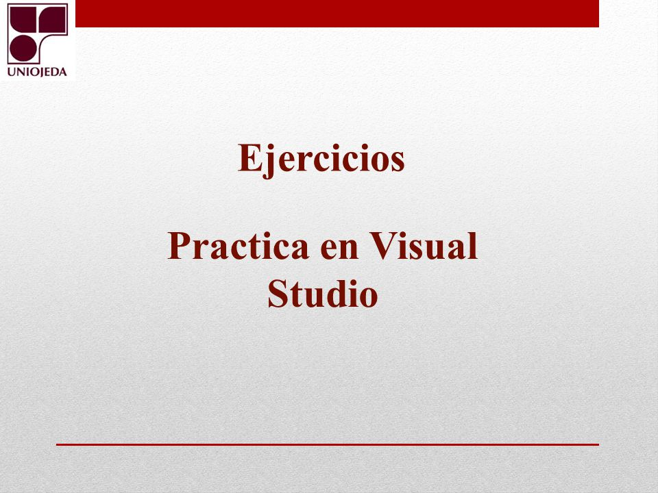Practica en Visual Studio