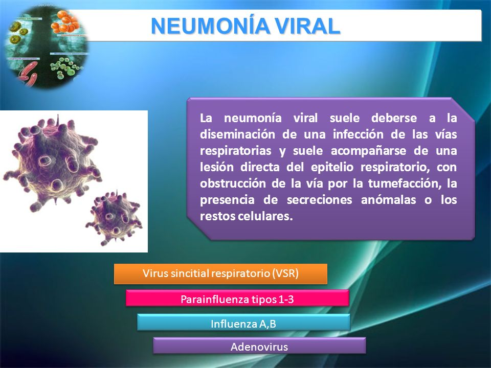 Virus sincitial respiratorio (VSR)